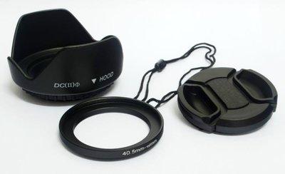 無暗角 索尼 ILCE A6500 A6000 A6300 16-50mm A5100遮光罩40.5m