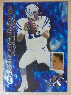 1999 SkyBox EX Century Extraordinary Peyton Manning NFL 蛋蛋卡