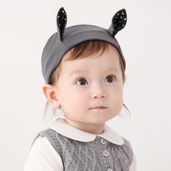☆草莓花園☆B44冬季新款韓版韓國純棉可愛耳朵髮帶 百天照頭飾 嬰兒髮帶 髮冠 皇冠 造型周歲照 藝術照