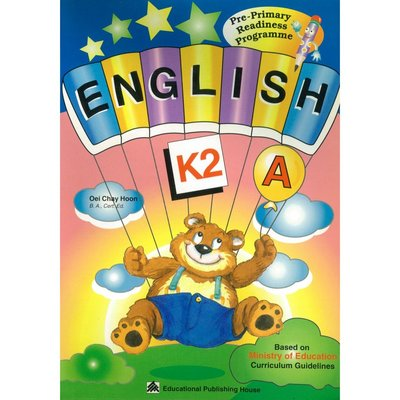 Pri-Primary Readiness Programme-English A (K2)幼兒美語 語法句型練習