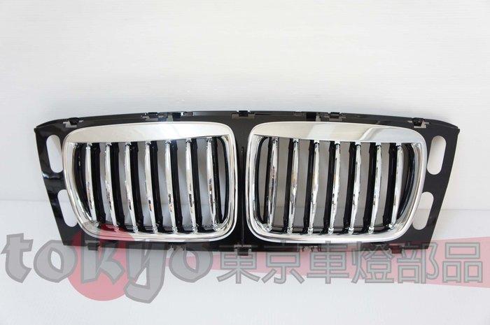@Tokyo東京車燈部品@BMW E34 95 96 97 M5 電鍍框水箱護罩 電黑鼻頭 限大鼻頭專用