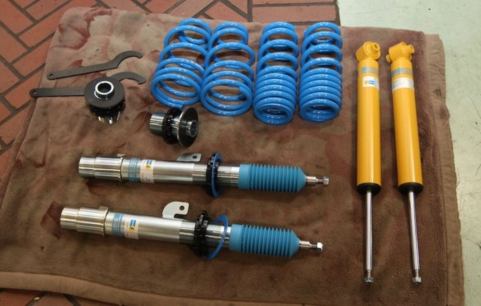 國豐動力 BMW F20 F22 F30 F32 中古BILSTEIN B14 可調避震彈簧 避震懸吊系統 完工價錢