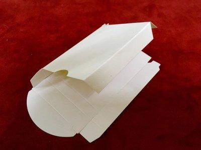 【天天魔法】【A327】白色Bicycle空牌盒(全白)(Bicycle Box empty)(Whited)(全新)