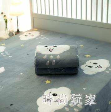 法蘭絨毛毯被子珊瑚絨床單單件加厚單人宿舍學生冬季鋪床毯子zzy6078