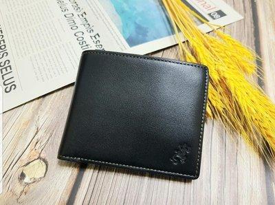 促銷換評價!『全新 agnes b. Voyage b 超質感牛皮皮夾短夾(黑)』-日本東京帶回現貨,含運