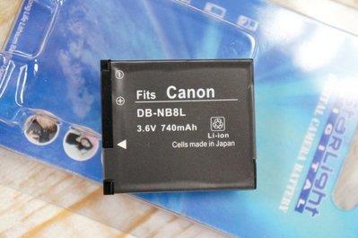 【中壢NOVA-水世界】CANON DB-NB8L NB8L 鋰電池 副廠電池 A3100【一年保固直接換新】
