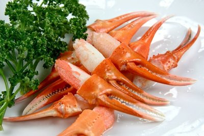 【萬象極品】日本原裝紅鱈蟹鉗(松葉蟹鉗)(M)/約500g~蟹腳~蟹爪~教您作一道簡單美味高質感的蒜香奶油松葉蟹鉗