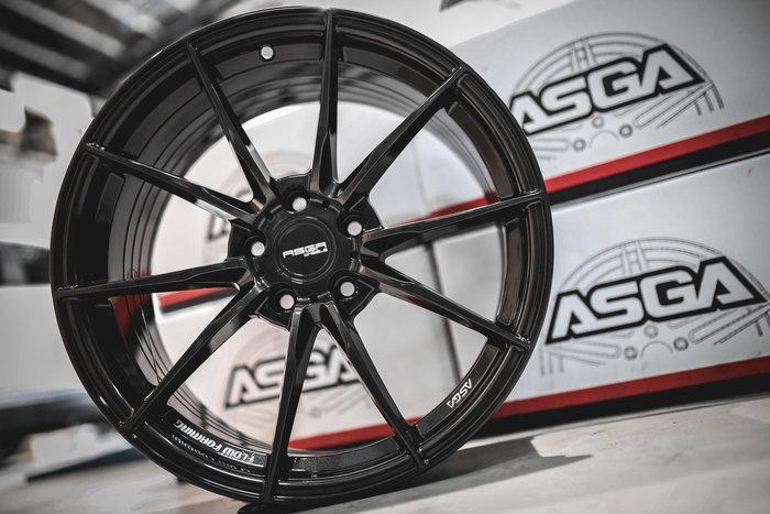 德朋國際 / ASGA ARF06輕量化/旋壓鑄造 經典式樣 Volkswagen Golf Gti 實裝