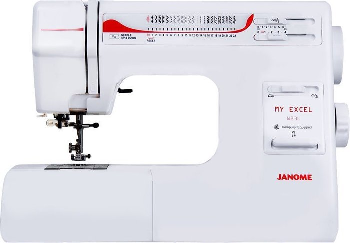 【優質服務品質保證】車樂美 JANOME 縫紉機 W23U 全新公司貨 可議價『請看關於我,來電享有勁爆價』