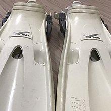 GULL MANTIS DRY 白色 潛水/浮潛 蛙鞋 SIZE S 9成新