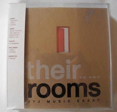 JYJ Music Essay Their Rooms 音樂散文集 /在中 有天 俊秀/東方神起