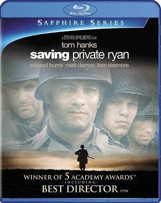 BD 全新美版【搶救雷恩大兵】【Saving Private Ryan】Blu-ray 藍光 湯姆漢克斯