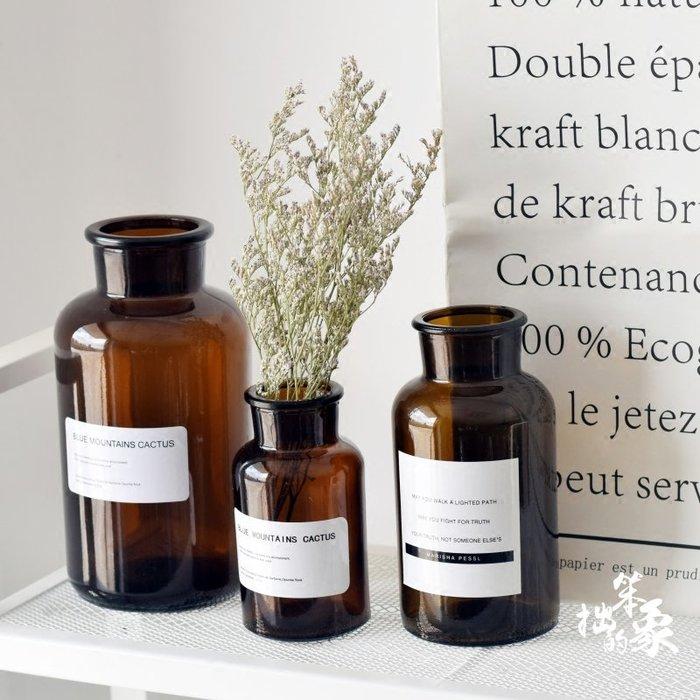 乾花 假花 塑膠花 拍攝 擺設 小玻璃花瓶復古迷你透明水培創意個性拍照道具ins風裝飾干花花瓶