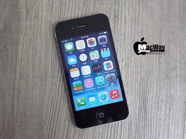 『售』麥威 iPhone 4 黑色 16GB iOS 7.1.2 !!!