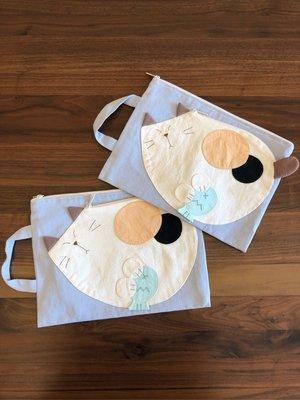日本卡拉貓~大貓內防水收納袋 工具袋