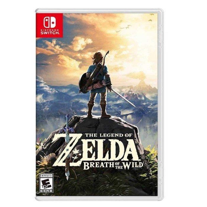 【墨坊資訊-台南市】任天堂 Nintendo Switch 【薩爾達傳說 曠野之息】