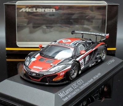 【MASH】[現貨瘋狂價]  Minichamps 1/43 McLaren MP4-12C GT3 #99 24h