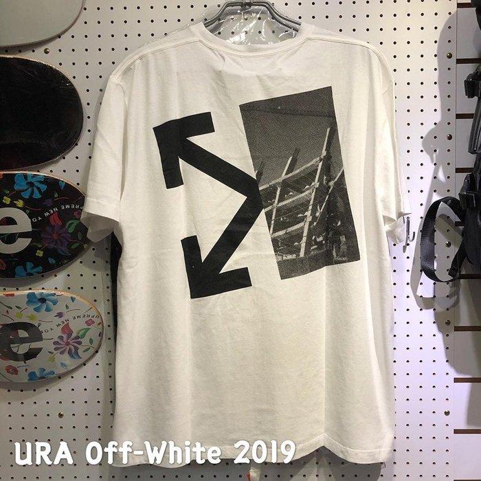 【URA 全新現貨】Off-White 2019 Splitted arrows 建築 眼睛 TEE OVER SZ