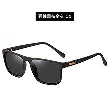 [凱倫芭莎]2003眼鏡鏡框墨鏡太陽眼鏡鏡片新款 男士偏光鏡TR方形鏡框 太陽眼鏡 防紫外線墨鏡批發136