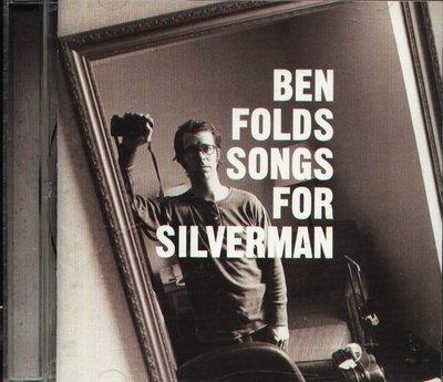 K - Ben Folds - Songs For Silverman - 日版 CD+1BONUS