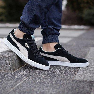 Puma suede classic casual shoes 黑白 好搭 滑板鞋 35263403 男女鞋