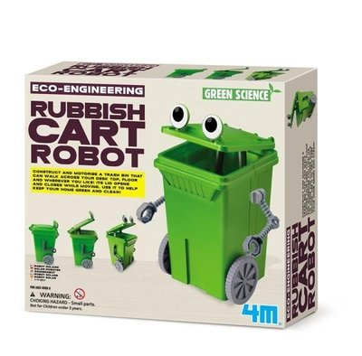 回收小尖兵 Rubbish Cart Robot   (00-03371)