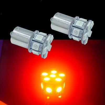 【PA LED】1156 平角 斜角 歐規 13晶 39晶體 SMD LED 方向燈 角燈 迷你尺寸 紅光