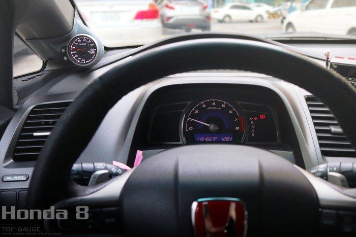【精宇科技】HONDA CIVIC (FN) (FD) 8代 (FK) Type R 專車專用 A柱錶座