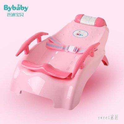 YEAHSHOP 嬰兒洗頭床 寶寶洗頭椅可調節折疊大號可躺兒童小孩嬰兒洗發躺椅床511513Y185