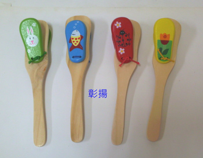 彰揚【木製響板】木製玩具.聲響玩具.拍拍板