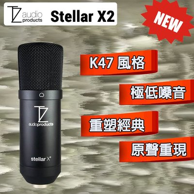 【eYe攝影】公司貨 TechZone Stellar X2 大振膜電容麥克風 麥克風 雙耳 專業收音 心型指向 經典