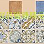 ◎冠品磁磚精品館◎義大利進口精品 地中海亮面素磚三色及花磚 –20X20CM