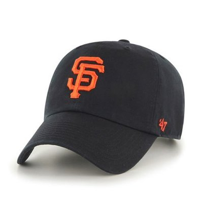 【YZY】47 BRAND SAN FRANCISCO GIANTS 老帽 復古帽 老爺帽 MLB LOGO 經典 黑
