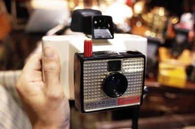 寶麗萊美國古董拍立得相機 Polaroid SWINGER Model 22 [CAMERA-0033]老相機 底片相機