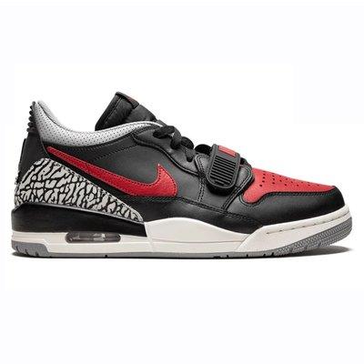 R'代購 Air Jordan Legacy 312 Low Banned 1 3 黑紅灰 爆裂紋 CD7069-006