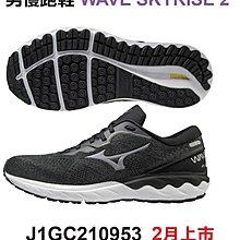 憲憲之家 Mizuno 美津濃 2021 WAVE SKYRISE 2 男慢跑鞋 J1GC210953