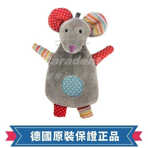 卡樂登】2019年最新款  德國原裝 Fashy 色彩繽紛老鼠拼布造型玩偶 注水式 熱水袋0.8L #65209
