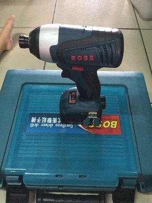 """""""工具醫院"""" BOSS TR14A 鋰電 衝擊起子機 充電式電鑽 單機 賣場 參考 BOSCH 可用 GDR 14.4v"""