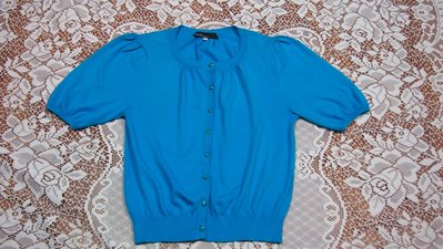 CLEAR IMPRESSION 日本製藍色短袖上衣