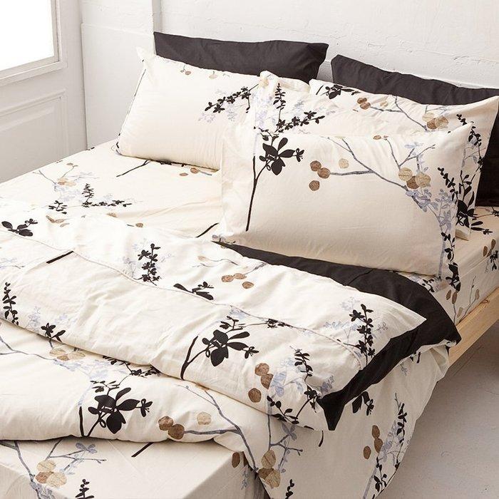 床包 / 單人【京都物語】含一枕套,100%精梳棉,台灣製造,戀家小舖F01-AAS101