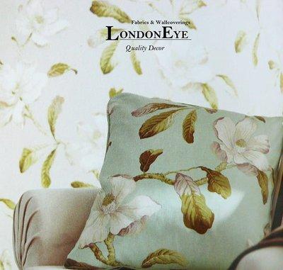 【LondonEYE】雪菲爾 • 經典英式鄉村風格X英國進口純棉傢飾布X 藝術手繪感SANDERSON風格