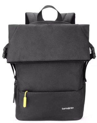 全新品Samsonite 新秀麗 黑色電腦後背包 容量21.5L