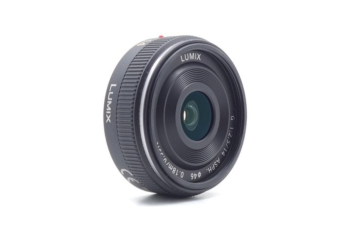 【台中青蘋果】Panasonic Lumix 14mm f2.5 二手 鏡頭 定焦鏡 #52144