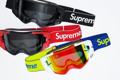 (TORRENT) 2018 春夏 Supreme Fox Racing Vue Goggle 護目鏡 風鏡 黑.紅