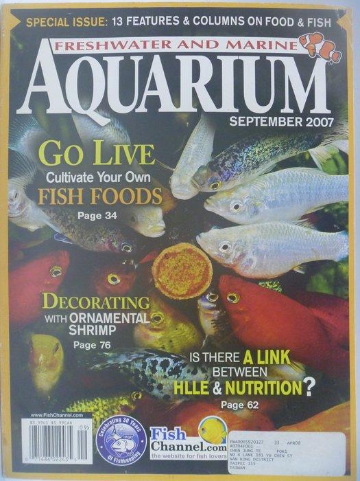【月界】Freshwater and Marine Aquarium Magazine-2007/9 〖寵物〗CES