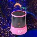 夢幻夜光燈+音樂 360度旋轉式星光投影 夜燈創造房間浪漫樂趣 圓筒紅座
