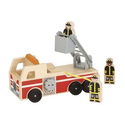 【晴晴百寶盒】美國進口消防救援站Ⅱ代 Melissa&Doug扮演角系列手眼協調 生日禮物家家酒 益智遊戲玩具W633
