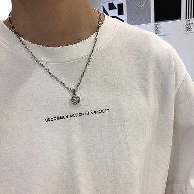 T恤 素Tee 短T polo衫 帽T態度 / 小字母印花 內搭單穿都好看的打底T 韓版做舊磨破短袖 男