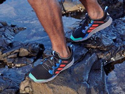 【S.M.P】Adidas Wm Terrex Agravic Speed 黑紅綠藍 聯名 慢跑鞋 EE3912