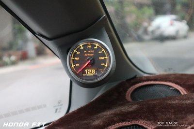 【精宇科技】Top Gauge 新品上市 HONDA FIT 專用OBD2 水溫錶